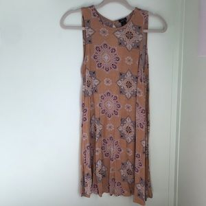 Two Rue 21 loose fitting flower dresses!